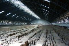 Esercito Xian/Xi'an, Cina di terracotta Fotografia Stock Libera da Diritti