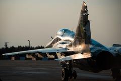 Esercizi militari dell'aria completati piloti ucraini immagine stock libera da diritti