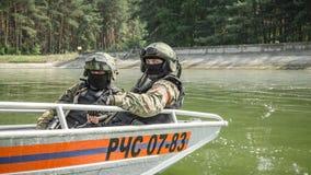 Esercizi militari in Russia Immagine Stock