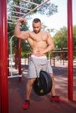 Esercizio di allenamento fuori Sport e concetto di forma fisica Fotografia Stock Libera da Diritti