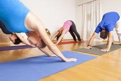 Esercizio di yoga Fotografia Stock Libera da Diritti