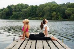Esercizio per flessibilità Fotografie Stock