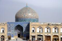 esfahan伊朗夫人清真寺 免版税库存照片