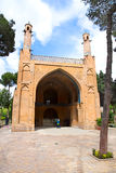 esfahan伊朗jonban monar清真寺 库存图片