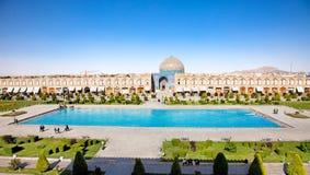 esfahan Iran lotfollah meczetu sheikh fotografia stock