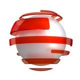 Esfera ilustración del vector