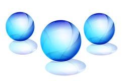 esfera 3D Foto de Stock