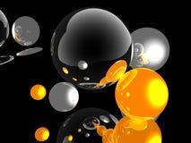 esfera 3d Fotografia de Stock