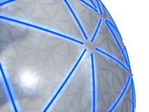 esfera 3D Imagenes de archivo