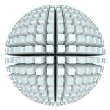 esfera 3d abstrata Fotografia de Stock