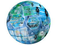 esfera Imagen de archivo libre de regalías