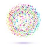 Esfera abstracta Imagen de archivo