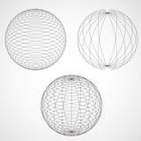 Esfera abstracta del diseño Imagen de archivo libre de regalías