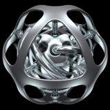 Esfera abstrata 006 imagem de stock