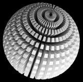 Esfera abstrata Foto de Stock