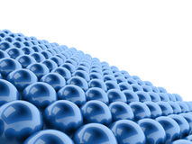 Esfera abstrata azul ilustração do vetor