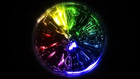 Esfera abstrata da energia ilustração do vetor