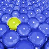 Esfera amarela Fotos de Stock Royalty Free