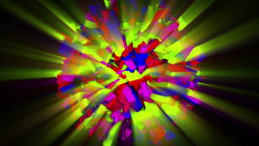 Esfera animada colorida 4K libre illustration