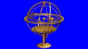 Esfera armilar ilustración del vector