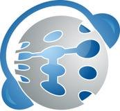 Esfera audio Fotografia de Stock