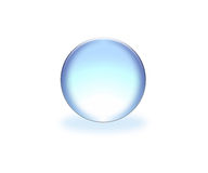 Esfera azul Fotos de archivo