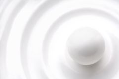 Esfera branca imagens de stock