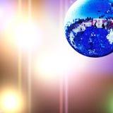 Esfera brilhante do disco foto de stock royalty free