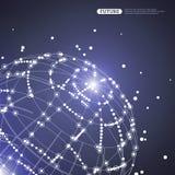Esfera brillante abstracta del vector libre illustration