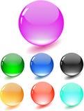 Esfera brillante coloreada Foto de archivo libre de regalías