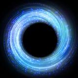 Esfera brillante del vector abstraiga el fondo ilustración del vector