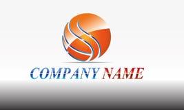 Esfera, círculo, logotipo, global, abstrato, negócio, empresa, corporaçõ, infinidade, grupo de projeto redondo do vetor do símbol Imagens de Stock
