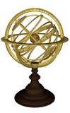 Esfera celestial antiga - 3D rendem ilustração stock