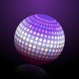 Esfera colorida abstrata Foto de Stock