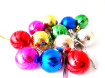 Esfera colorida do Natal Imagem de Stock Royalty Free