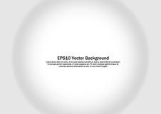 Esfera com sombra 3D easter cinzento no fundo branco Imagens de Stock