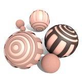 esfera 3D Imágenes de archivo libres de regalías