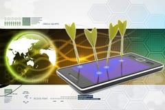 Esfera 3d diferente Fotos de Stock