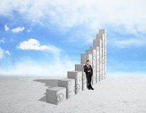 Esfera 3d diferente Imagem de Stock