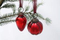 Esfera da árvore de Natal Foto de Stock Royalty Free