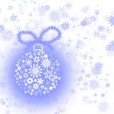 Esfera da árvore de Natal Ilustração Stock