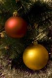 Esfera da árvore do ano Imagens de Stock
