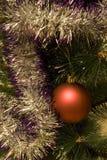 Esfera da árvore do ano Imagem de Stock