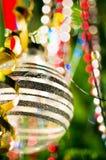 Esfera da árvore do Xmas Foto de Stock