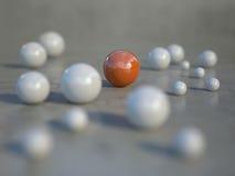 Esfera da cor no foco Fotos de Stock