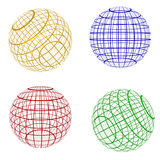 Esfera da cor, símbolo do planeta Foto de Stock Royalty Free