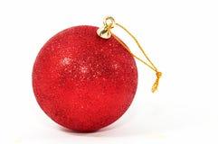 Esfera da decoração do Natal Imagens de Stock Royalty Free