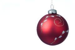 Esfera da decoração do Natal Fotos de Stock Royalty Free