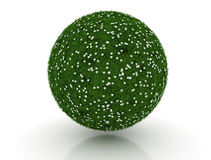 Esfera da grama verde Foto de Stock Royalty Free