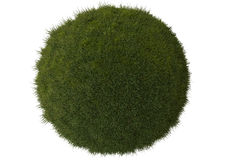 Esfera da grama verde Fotografia de Stock Royalty Free